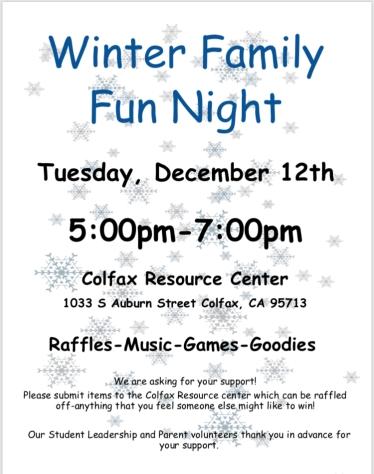 Winter Family Fun Night
