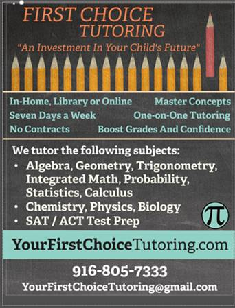 first choice tutoring flyer