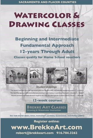 Brekke Art Classes Flyer