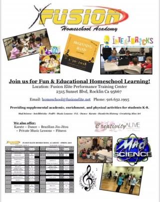 Fusion Elite homeschool Academy