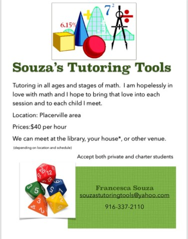 Souza's Tutoring Tools