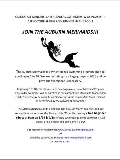 Mermaids Flyer