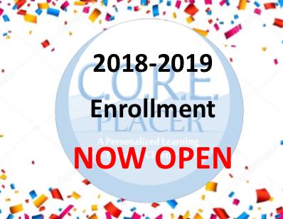 Enrollment opening logo