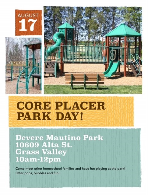 CORE Placer Park day_Grass Valley