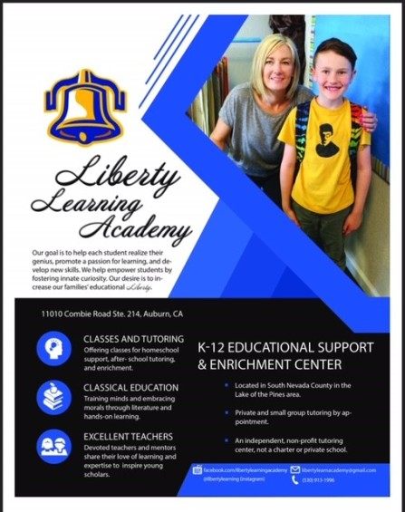 Liberty Learning Flyer_Fall 2018