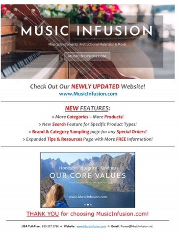 Music Infusion flyer